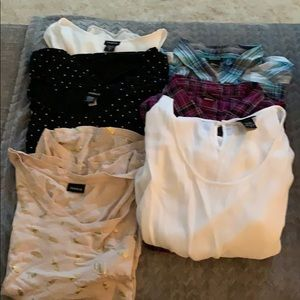 Bundle 6 Torrid shirts. Size 2X